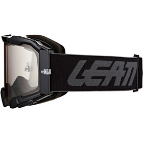 Leatt Velocity 5.5 Anti Fog Lunettes de protection, black/light grey